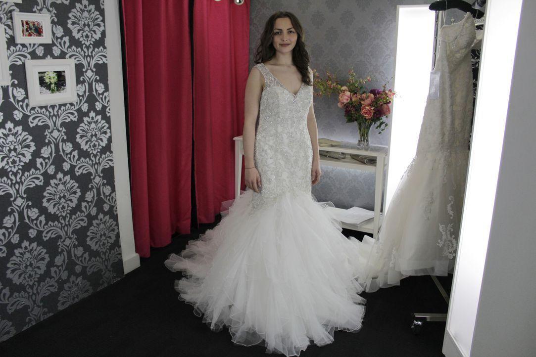 Megan und Whitney suchen ein Kleid für ihre Hochzeit, die in Palm Springs st... - Bildquelle: TLC & Discovery Communications