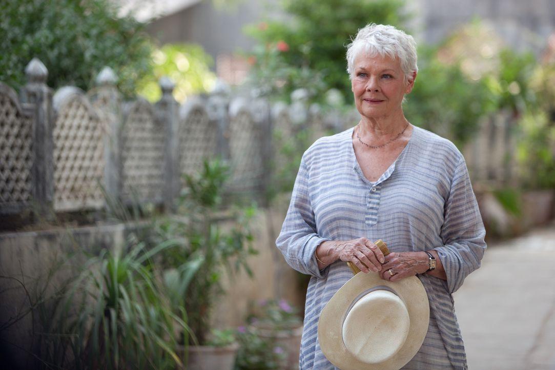 Als ihr Ehemann gestorben ist, möchte Evelyn (Judi Dench) in Indien einen Neuanfang wagen und erlebt dabei ein exotisches Abenteuer ... - Bildquelle: 2012 Twentieth Century Fox Film Corporation. All rights reserved.