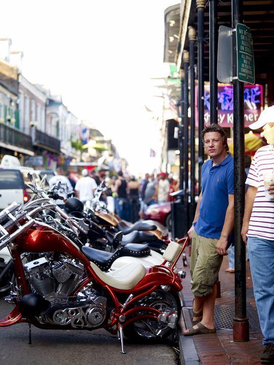 Jamies nächster Stopp auf seiner Ein-Mann-Essensexpedition ist Louisiana. Und er landet direkt in New Orleans ... - Bildquelle: David Loftus 2009