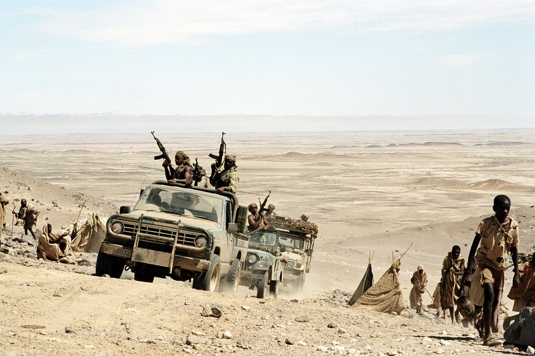 In Krisengebieten in Afrika versucht Sarah ihrem Leben einen neue Aufgabe zu geben ... - Bildquelle: Paramount Pictures