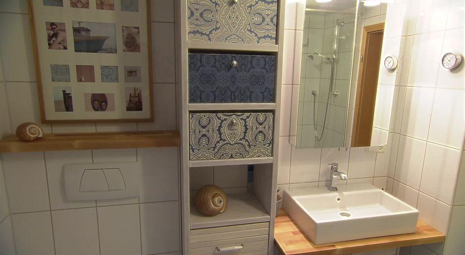 Kleines Bad richtig einrichten - DIY - sixx.de