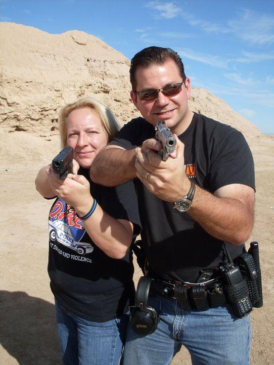 Zwei Deutsche Cops in Kalifornien - Auf Streife mit Daniel Schleyer und Martina Wissmann - Bildquelle: kabel eins