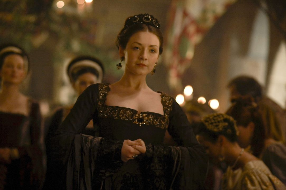 Ist von der neuen Königin Catherine Howard, alles andere als angetan: Lady Mary (Sarah Bolger) ... - Bildquelle: 2010 TM Productions Limited/PA Tudors Inc. An Ireland-Canada Co-Production. All Rights Reserved.