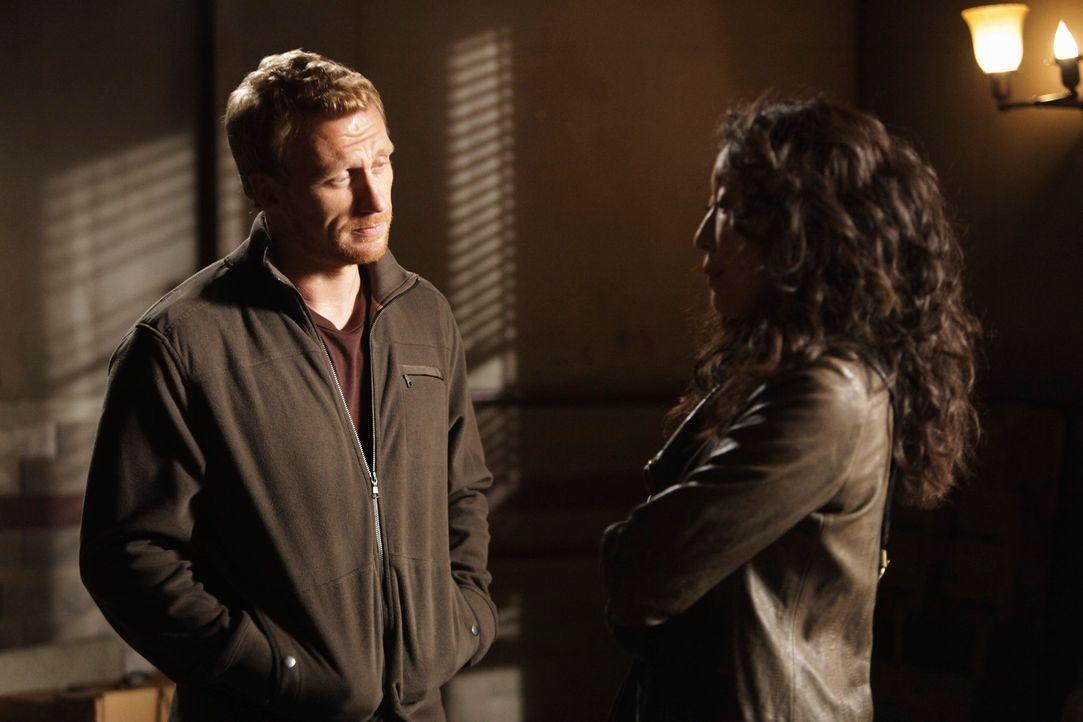 Auf Wohnungssuche: Cristina (Sandra Oh, r.) und Owen (Kevin McKidd, l.) ... - Bildquelle: ABC Studios