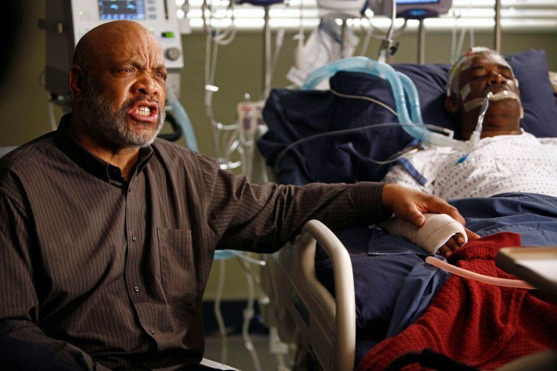 Cristina steht vor einer schweren Aufgabe - sie soll bei Michael die lebenserhaltenden Maschinen abstellen. Doch im letzten Moment wird sie von Sam... - Bildquelle: ABC Studios