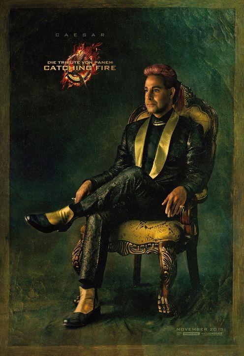 Stanley Tucci als Ceasar Flickerman in Catching Fire - Bildquelle: Studiocanal