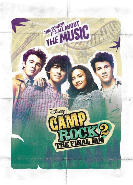 CAMP ROCK: THE FINAL JAM - Plakatmotiv - Bildquelle: Disney