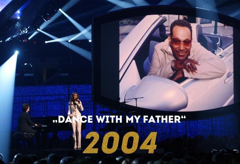 Grammy 2004: Dance with my Father - Bildquelle: AFP