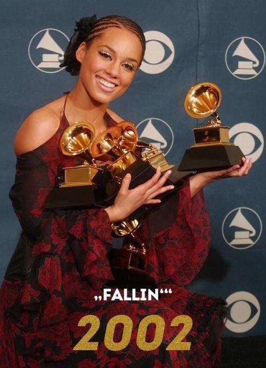 Grammy 2002: Fallin - Bildquelle: AFP