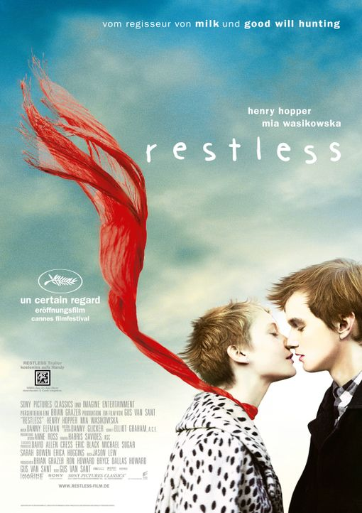 RESTLESS - Plakatmotiv - Bildquelle: 2011 Columbia Pictures Industries, Inc. All Rights Reserved.