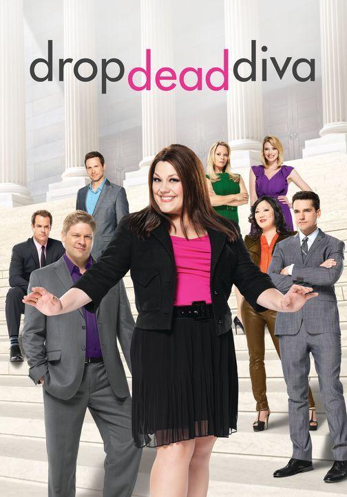 "(4. Staffel) - ""Drop Dead Diva"" - Plakatmotiv - Bildquelle: Sony Pictures Television"