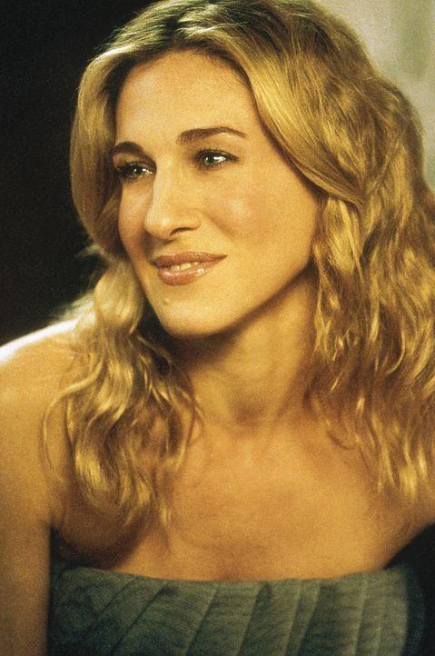 Carrie (Sarah Jessica Parker) und ihre Freundinnen fragen sich, was eine Beziehung ausmacht. Carrie zum Beispiel betrachtet ihre Beziehung mit Big a... - Bildquelle: Paramount Pictures