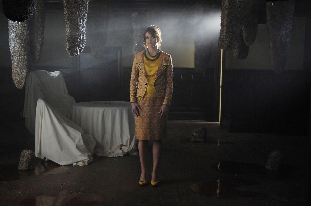 Nachdem Kentucky Fitz von einem Bieneschwarm zu Tode gestochen wurde, schleicht sich Chuck bei Betty's Bienen ein und erfährt von Betty (Missi Pyle... - Bildquelle: Warner Brothers