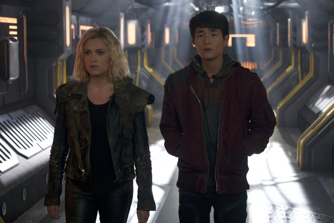 Clarke Griffin / Josephine Lightbourne (Eliza Taylor, l.); Monty Green (Christopher Larkin, r.) - Bildquelle: Shane Harvey 2019 The CW Network, LLC. All rights reserved / Shane Harvey