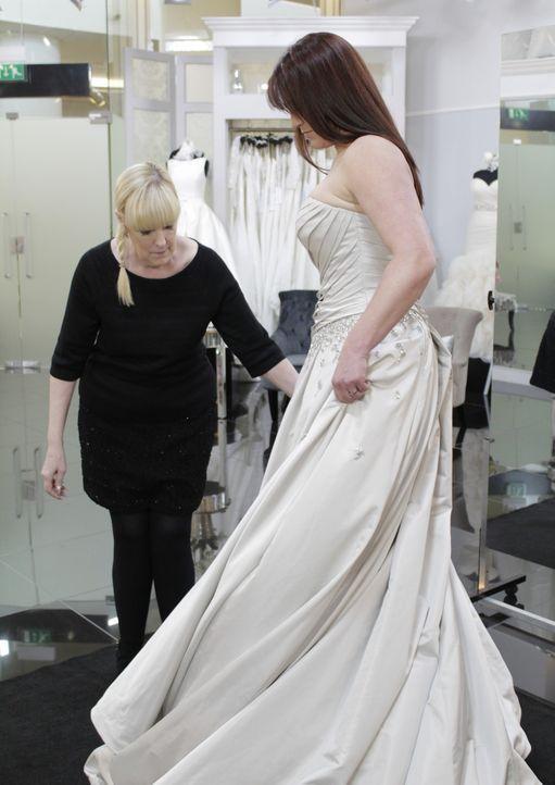 Rosa ist Fionas absolute Lieblingsfarbe. Auch ihr Kleid soll ein Traum aus R... - Bildquelle: TLC & Discovery Communications