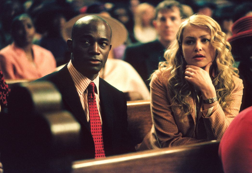 Können Jackson (Taye Diggs, l.) und Nelle (Portia de Rossi, r.) zwei streitende Gospelsängerinnen von einem Kompromiss überzeugen? - Bildquelle: 2001 Twentieth Century Fox Film Corporation. All rights reserved.