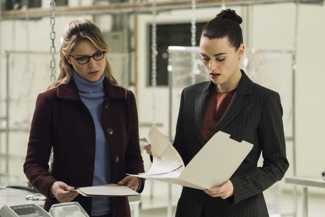 Kara (Melissa Benoist, l.); Lena (Katie McGrath, r.) - Bildquelle: Dean Buscher 2018 The CW Network, LLC. All Rights Reserved.