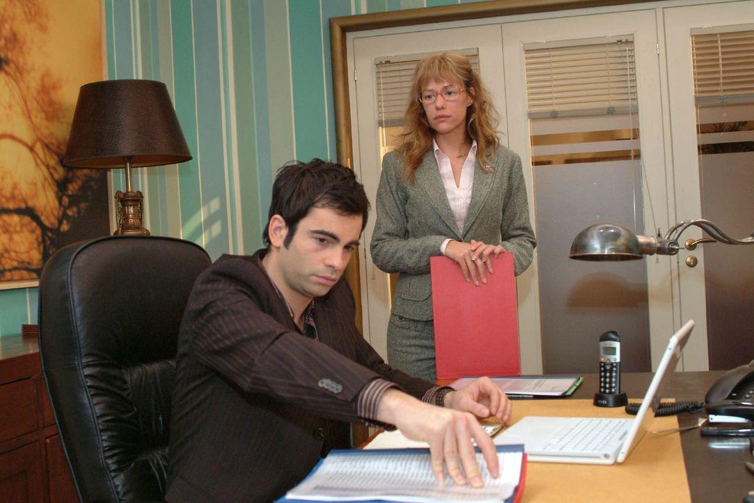 Lisa (Alexandra Neldel, r.) begreift, dass David (Mathis Künzler, l.) nicht der Richtige ist, um hinter das Geheimnis der Liebe zu kommen - und wec... - Bildquelle: Monika Schürle Sat.1