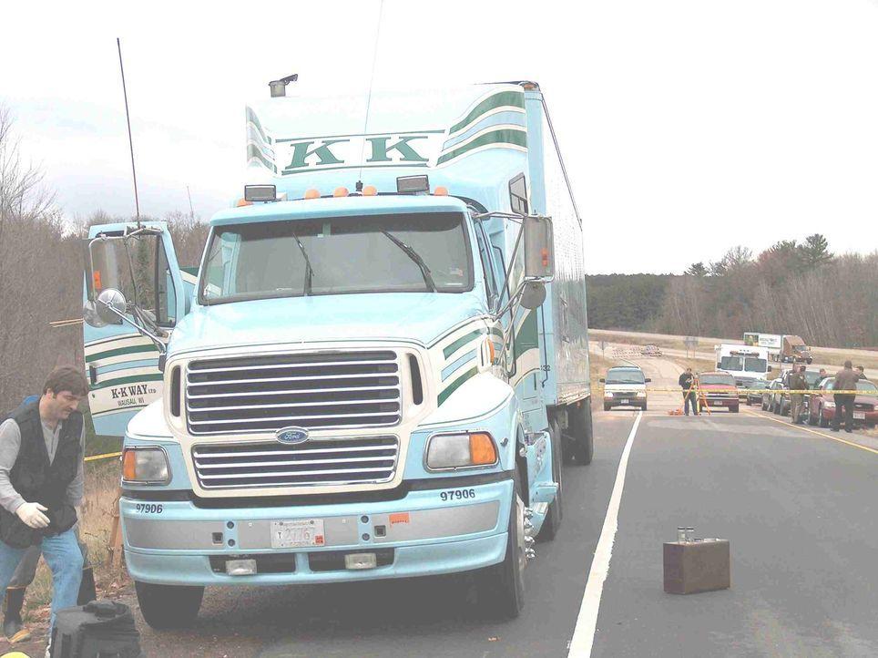 In diesem Truck wurde der LKW-Fahrer Pat Zemke ermordet aufgefunden. Die Ermittlungen führen zu keinem Ergebnis, es lässt sich einfach kein Motiv fi... - Bildquelle: Portage County District Attorney