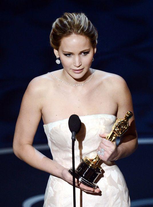 Jennifer Lawrence gewinnt Oscar - Bildquelle: AFP