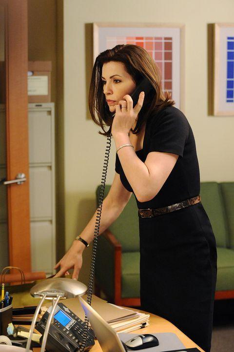 Darf man einen Mandanten vertreten, auch wenn man von seiner Unschuld nicht überzeugt ist? Alicia (Julianna Margulies) gerät in einen Gewissenskon... - Bildquelle: CBS Studios Inc. All Rights Reserved.