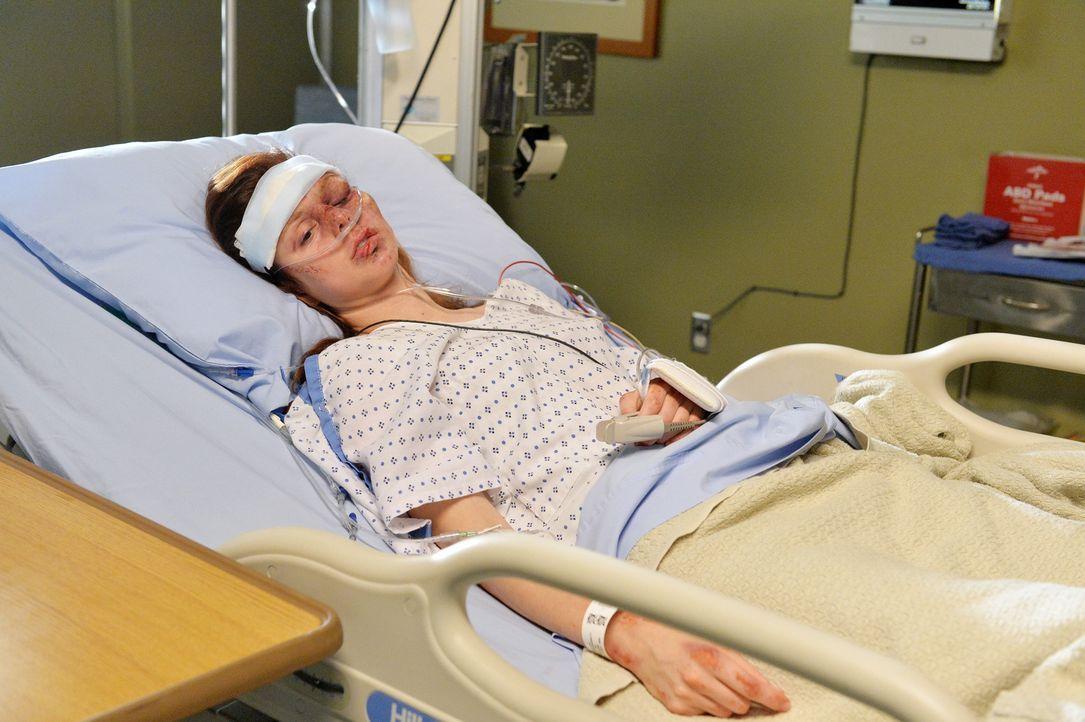 Verprügelt, schwer verletzt, beraubt: Die Situation der Patientin Melissa (Meg Chambers) scheint zunächst aussichtslos ... - Bildquelle: ABC Studios