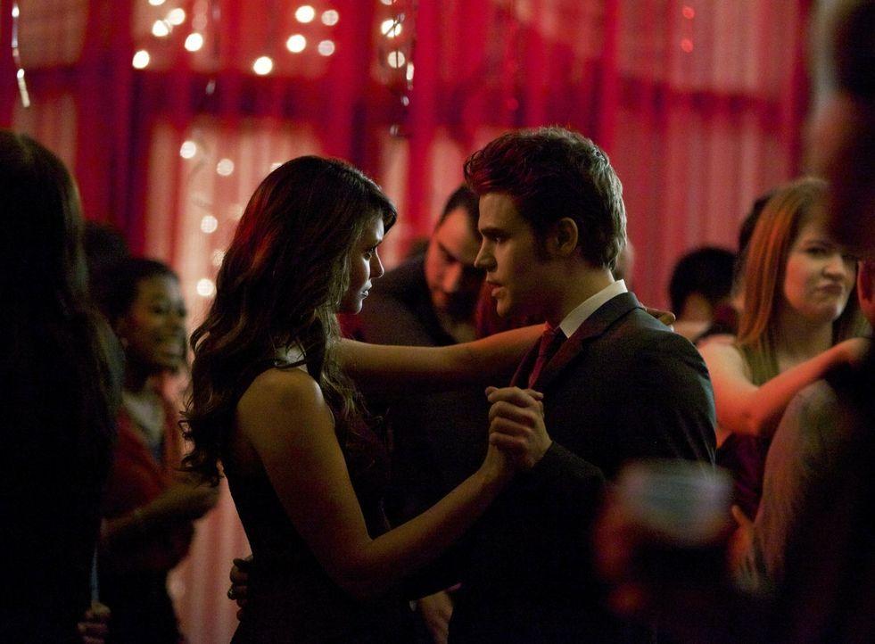 Kommen sich Stefan (Paul Wesley, r.) und Katherine (Nina Dobrev, l.) wieder näher? - Bildquelle: Warner Brothers