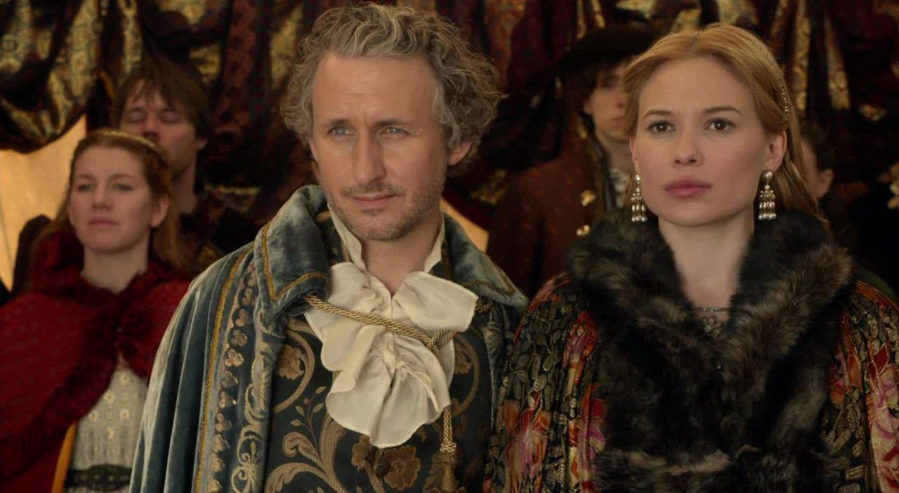 Lord Castleroy und seine Verlobte - Bildquelle: 2014 The CW Network. All Rights Reserved.