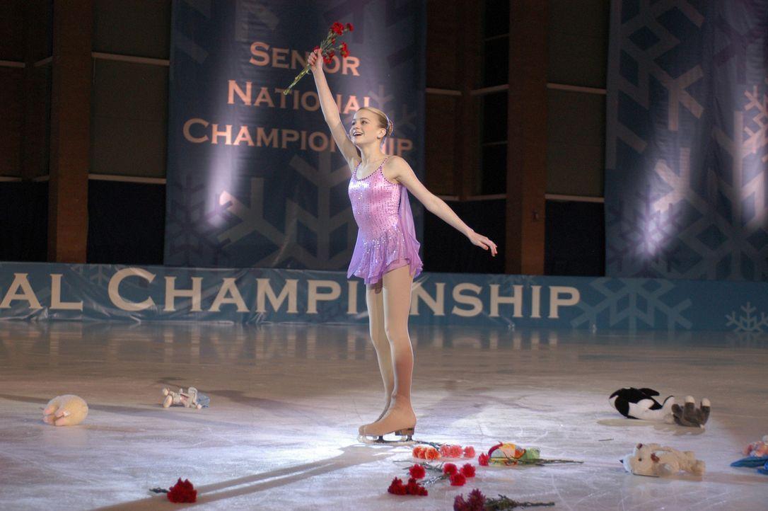 Hat Katelin (Jordan Hinson) bei den Meisterschaften eine Chance? - Bildquelle: The Disney Channel