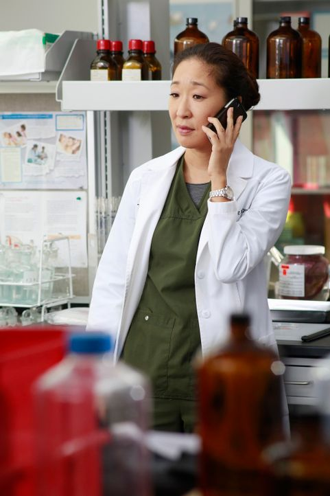 Während Alex versucht sich gegenüber einer Anfängerin zurückzuhalten, muss Cristina (Sandra Oh) ihre Teamfähigkeit unter Beweis stellen ... - Bildquelle: ABC Studios