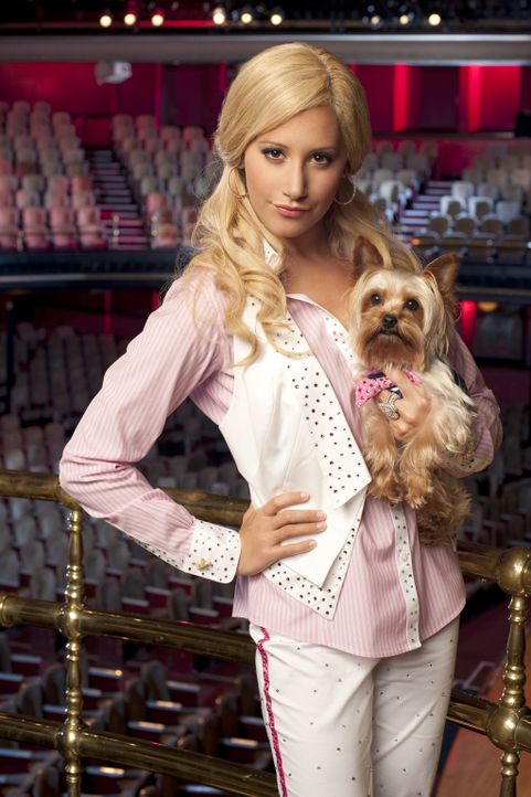 Sie hat einen Traum, den sie unbedingt verwirklichen will: Sharpay (Ashley Tisdale will am Broadway in einem großen Musical mitspielen. Doch noch wo... - Bildquelle: 2010 Disney Enterprises, Inc. All rights reserved.