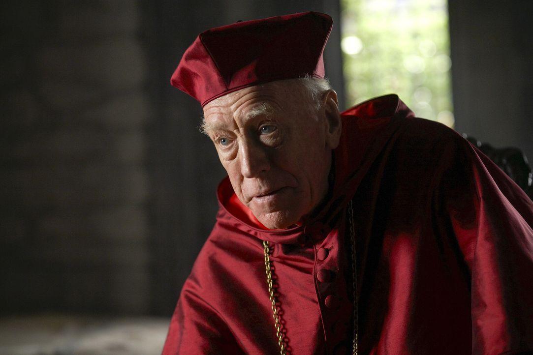 Macht sich Sorgen um die katholische Kirche: Cardinal von Waldburg (Max von Sydow) ... - Bildquelle: 2009 TM Productions Limited/PA Tudors Inc. An Ireland-Canada Co-Production. All Rights Reserved.