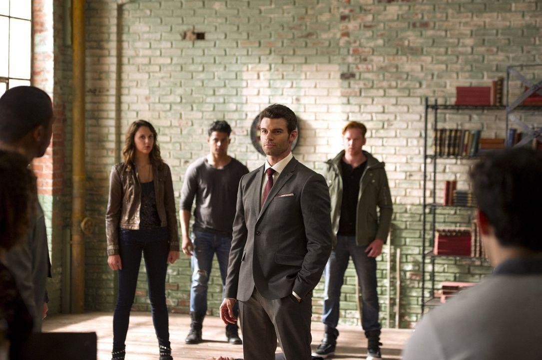 Kann Elijah (Daniel Gillies, M.) seiner Art beibringen, sich gegen ein ganzes Rudel von Werwölfen zu behaupten? - Bildquelle: Warner Bros. Television