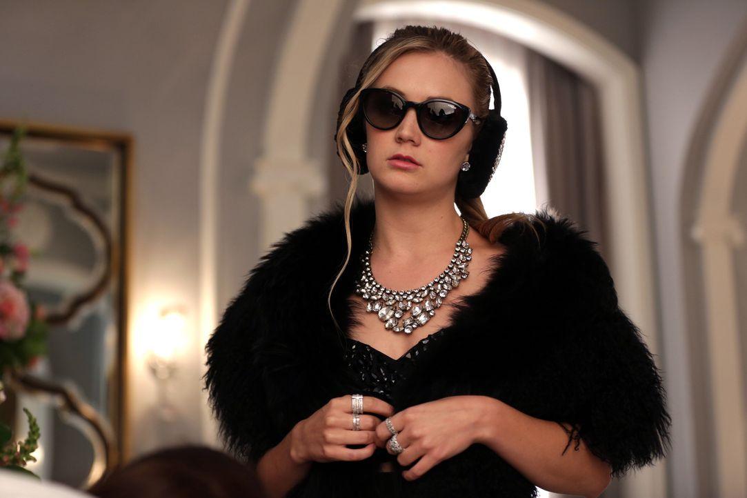 Während die wilden Spekulationen darüber, wer der Mörder ist, in eine neue Runde gehen, muss auch Chanel #3 (Billie Lourd) sich fragen, wem sie loya... - Bildquelle: 2015 Fox and its related entities.  All rights reserved.