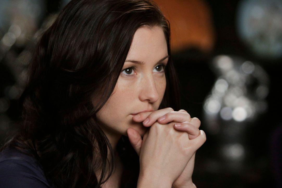 Weiß nicht, wie sie Mark sagen soll, dass sie mit Alex geschlafen hat: Lexie (Chyler Leigh) ... - Bildquelle: Touchstone Television