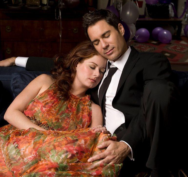 Der Abschied von Will (Eric McCormack, r.) und Grace (Debra Messing, l.) naht ... - Bildquelle: NBC Productions