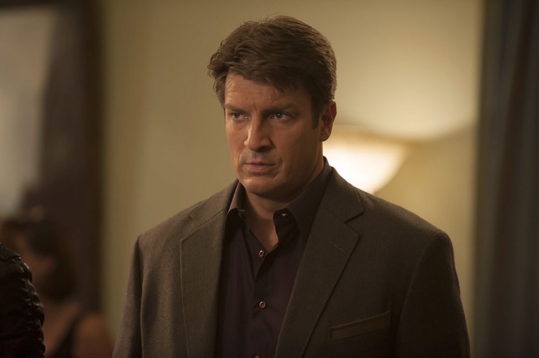 Castle (Nathan Fillion) will herausfinden, was hinter dem Mord an einem bekannten Billard-Profi steckt ... - Bildquelle: Colleen Hayes ABC Studios / Colleen Hayes