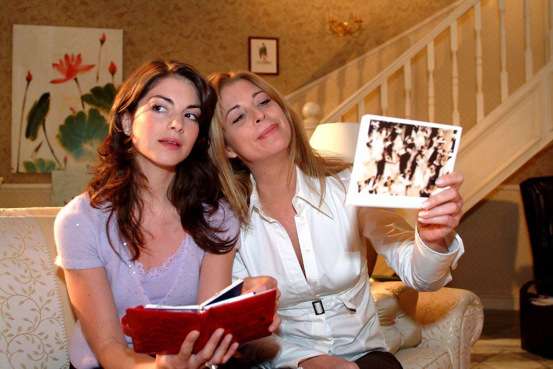 Mariella (Bianca Hein, l.) möchte, dass Laura (Olivia Pascal, r.) die Hochzeit für sie vorbereitet. - Bildquelle: Sat.1