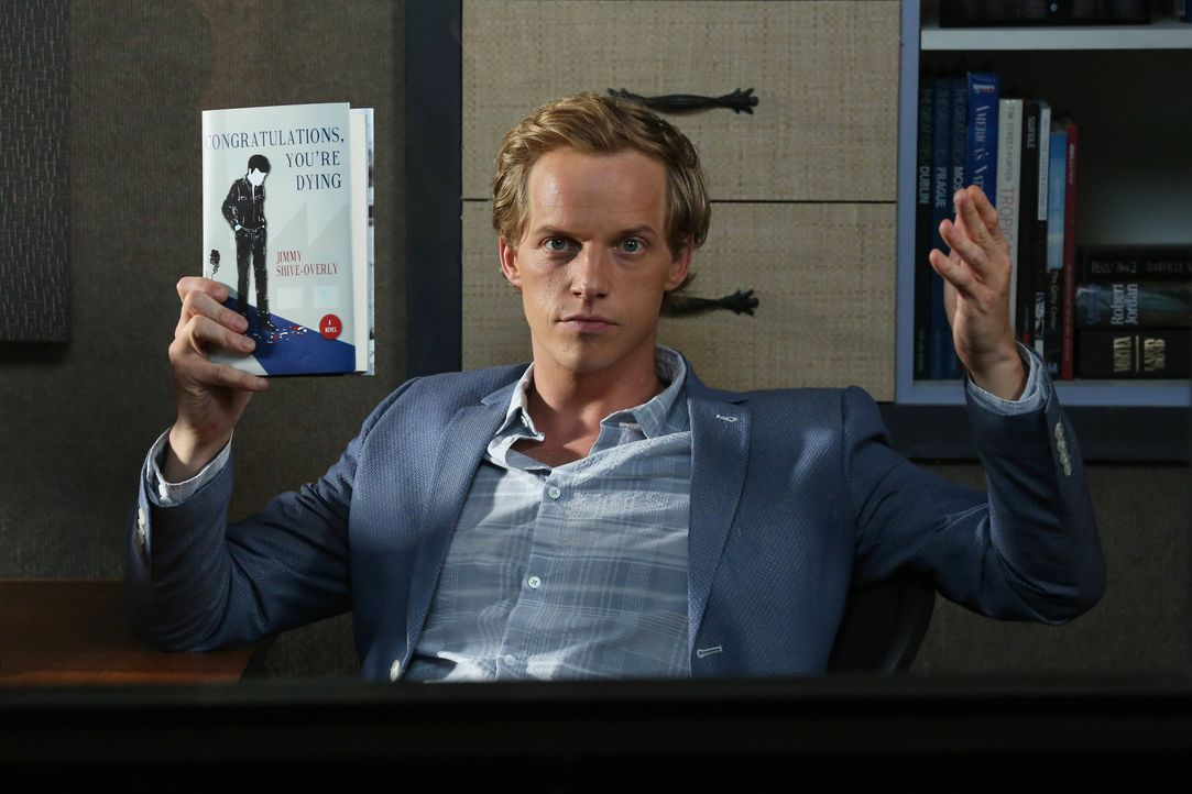 Jimmy (Chris Geere) ist sich sicher: Er ist schrecklich, wenn er glücklich ist ... - Bildquelle: TM &   2014 Fox and its related entities.  All rights reserved.
