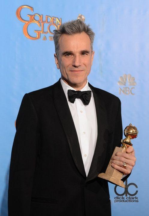 Daniel Day-Lewis bei den Golden Globes 2013 - Bildquelle: AFP