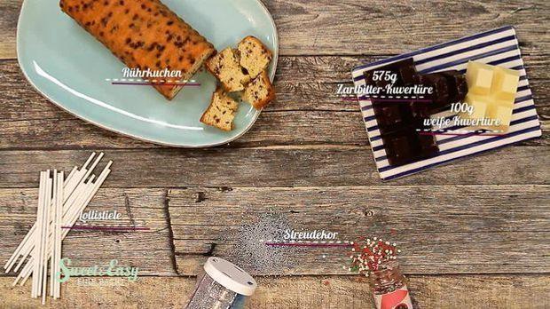 Advents-Cakepops Zutaten