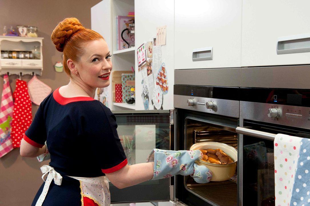 Die gelernte Schauwerbegestalterin, erfahrene Moderatorin und leidenschaftliche Bäckerin Enie van de Meiklokjes liefert  jede Menge Infos rund ums... - Bildquelle: Claudius Pflug sixx