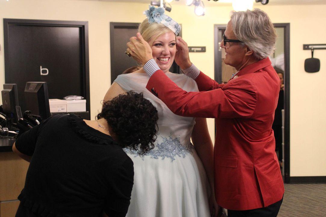 Monte (r.) gibt sein Bestes, um Becca (l.) und Cory eine perfekte Hochzeit zu organisieren ... - Bildquelle: TLC & Discovery Communications