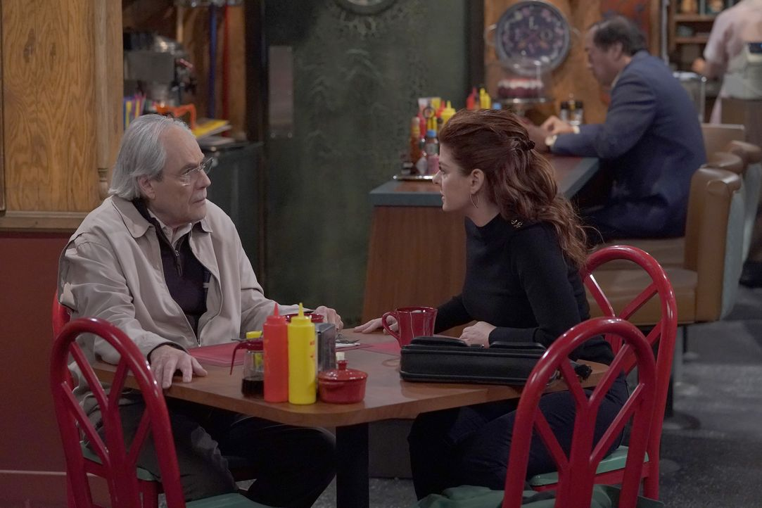 Martin Adler (Robert Klein, l.); Grace (Debra Messing, r.) - Bildquelle: Chris Haston 2018 Universal Television LLC. ALL RIGHTS RESERVED./Chris Haston / Chris Haston