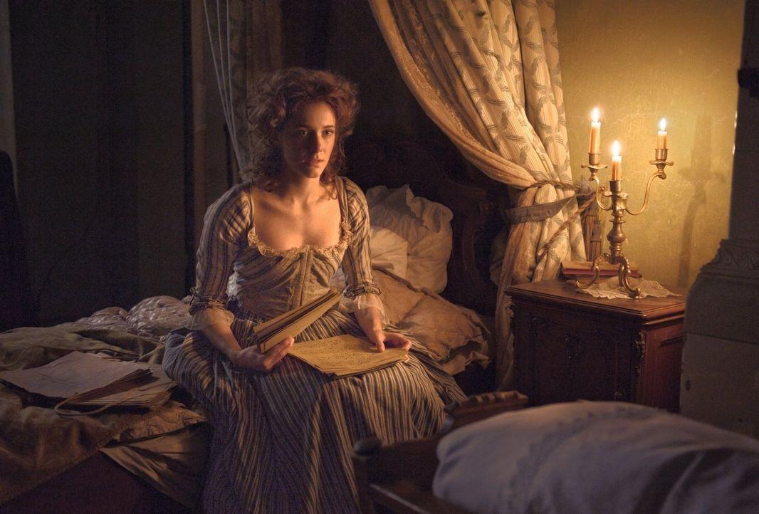 Die Liebe zu Lotte (Miriam Stein) und deren Leiden, lässt Johann Gothe ein Meisterwerk verfassen ... - Bildquelle: Warner Brothers