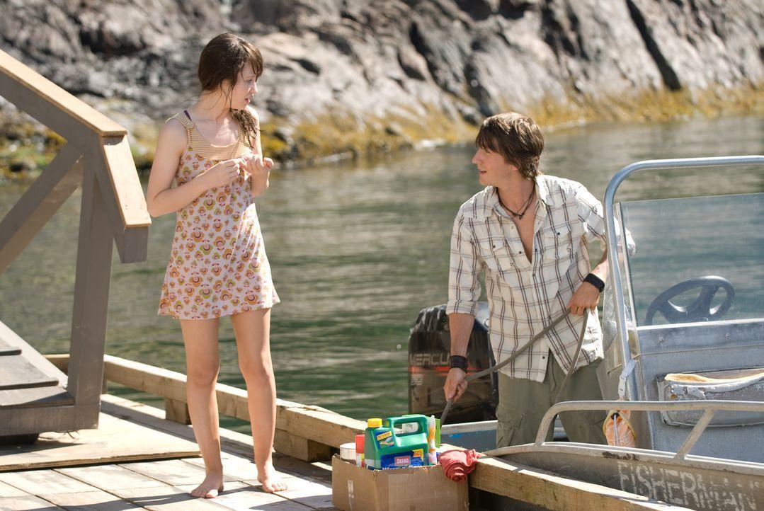 Die Vergangenheit holt sie ein: Matt (Jesse Moss, r.) und Anna (Emily Browning, l.) ... - Bildquelle: 2008 DreamWorks LLC and Cold Spring Pictures. All Rights Reserved.