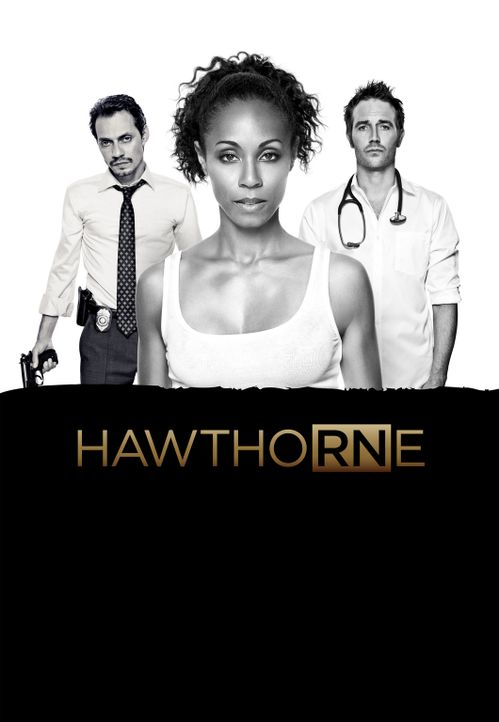 (3. Staffel) - Hawthorne: Christina Hawthorne (Jada Pinkett Smith, M.), Dr. Tom Wakefield (Michael Vartan, r.) und Det. Nick Renata (Marc Anthony, l... - Bildquelle: 2010 Sony Pictures Television Inc. All Rights Reserved.