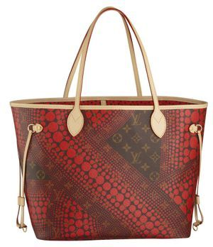 Louis Vuitton Kusama Neverfull-Tasche
