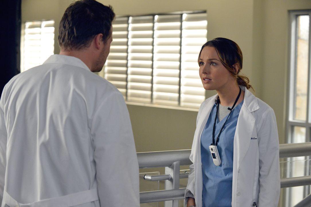 Besonders für Jo (Camilla Luddington, r.) ist es ein harter Schlag, dass Beziehungen zwischen Vorgesetzten und Untergebenen fortan im Krankenhaus ve... - Bildquelle: ABC Studios