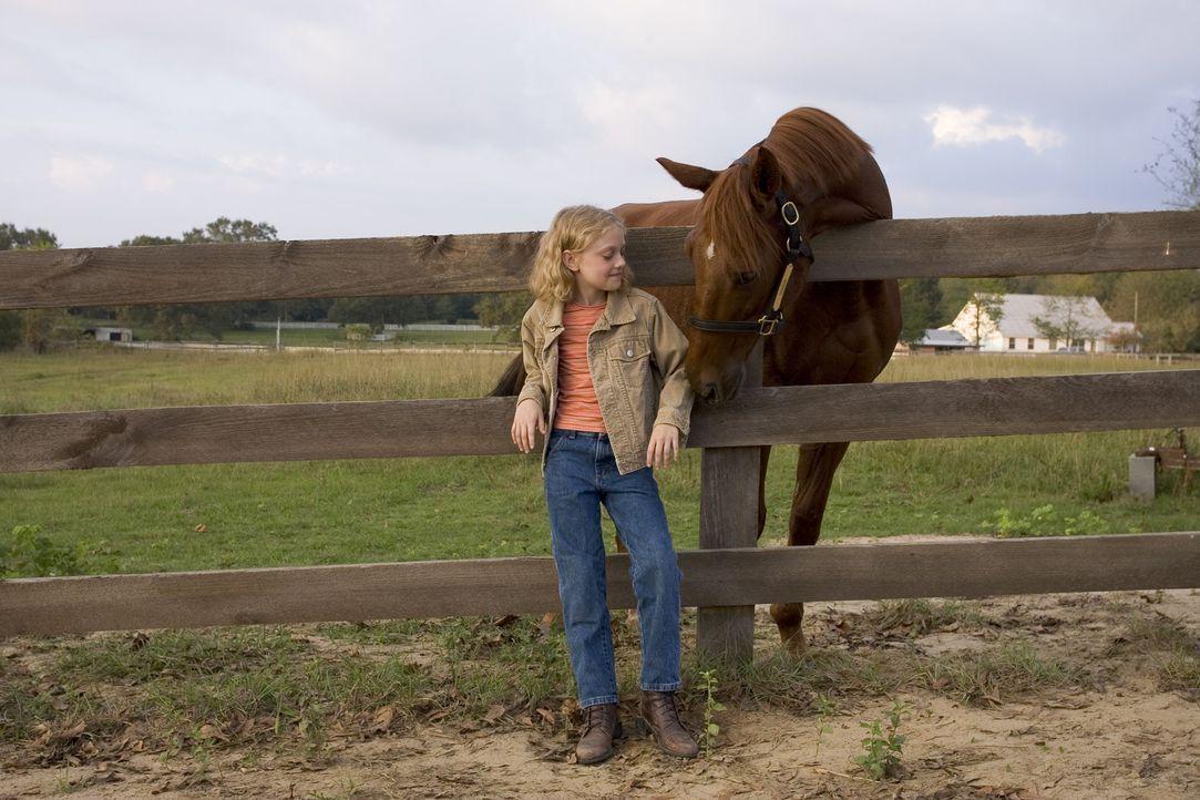 Die kleine Cale (Dakota Fanning) widmet all ihre Zeit ganz ihrer neuen Freundin, sie kennt nur ein Ziel: Sonya soll bei dem berühmten Breeder's Cup... - Bildquelle: Epsilon Motion Pictures